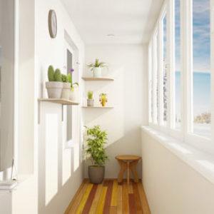 Остекление балконов и лоджий. Утепление и отделка