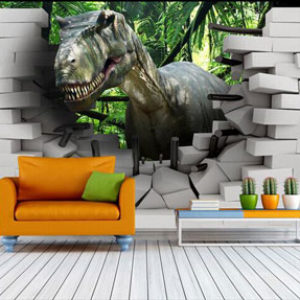 Стереоскопические обои 3d для стен. Виды, фото и как клеить эти обои